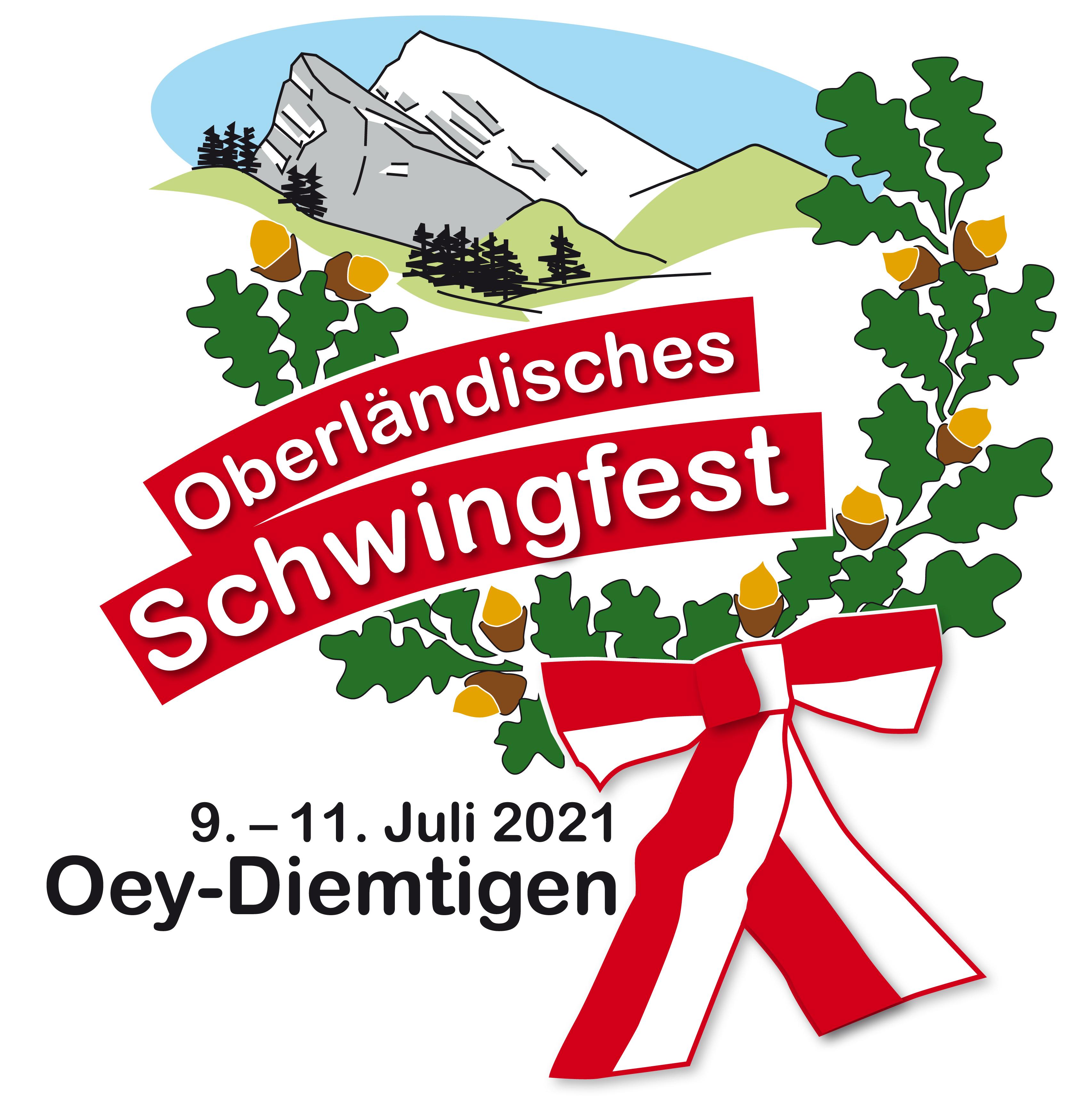 Logo Oberländisches Schwingfest Oey-Diemtigen 2021