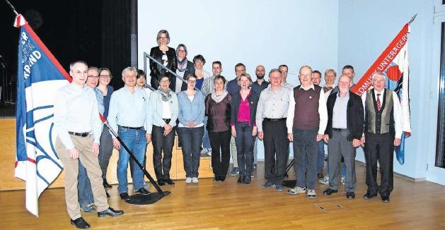 25 Musikantinnen und Musikanten erhielten ihre Auszeichnung. (Bild PD)