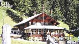 Bergrestaurant Iffigenalp: Chambre double 3