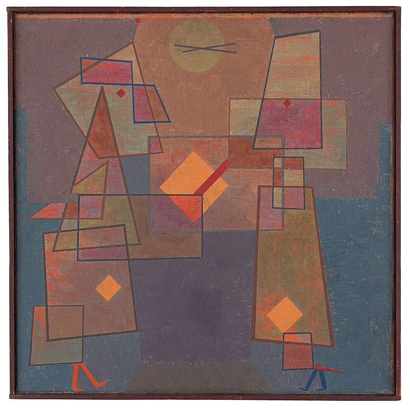 Paul Klee: Menschen unter sich