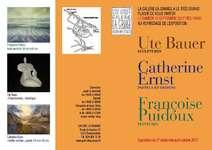 Affiche galerie La Grange 2017 (Galerie La Grange, Romainmôtier)