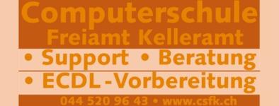 Computerschule Freiamt Kelleramt, Oberlunkhofen - ECDL-Testcenter