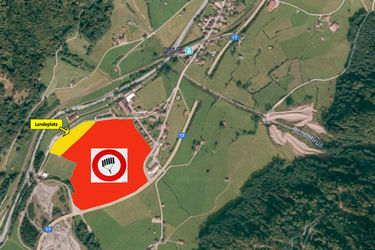 Gleitschirm Landeplatz - 1