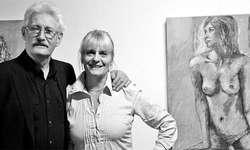 Urs Maltry und Heidi Thöni stellen in der Zürichsee-Galerie in Bäch aus. Bild Sven Gutknecht