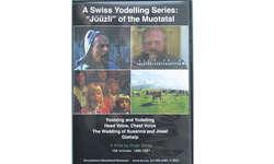 «Yootzing and Yodelling»: Das Cover der Doppel-CD zeigt (von oben links im Uhrzeigersinn) Alois Schmidig, Franz-Dominik Betschart, Kühe auf der Glattalp und die Familie Betscharts. Bild Franz Steinegger
