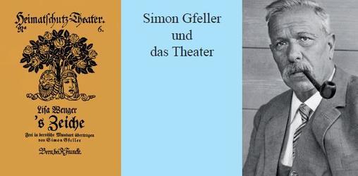 Simon Gfeller und das Theater - 1