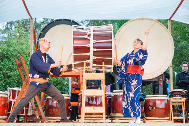 Japanisches Trommel Festival
