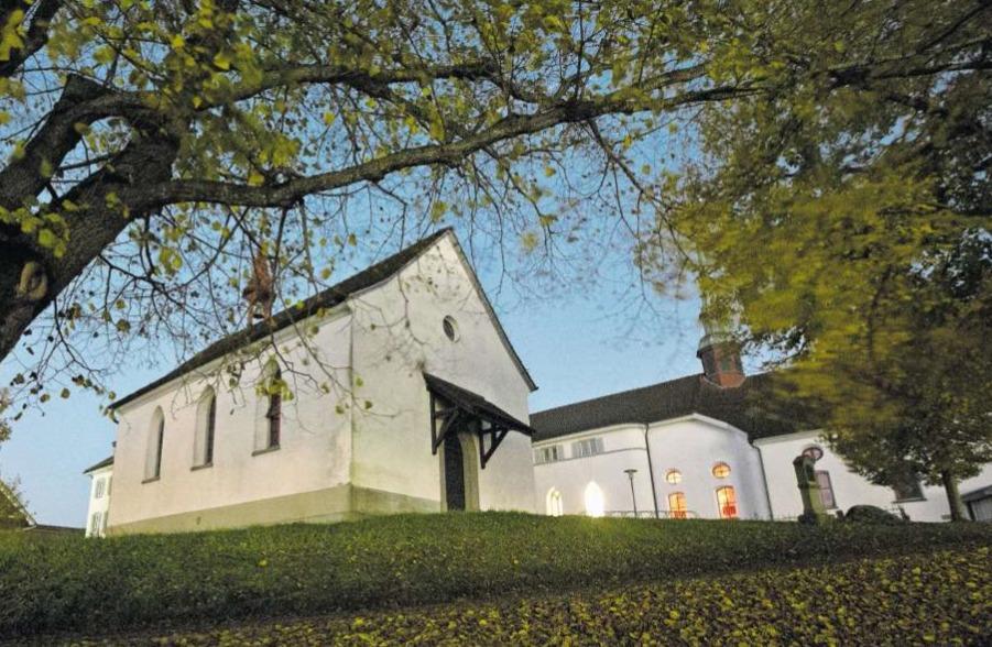 Sicht auf die Schlachtkapelle beim Kloster Maria Hilf. Hier fand Theresia Städele 1848 Zuflucht. (Bild Stefan Kaiser)