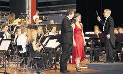 Setzte sich überzeugend in Szene: Sopranistin Yvonne Theiler aus Einsiedeln. Bild Christoph Jud