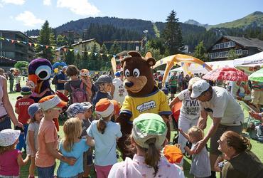 Betreutes Kinderprogramm der Bärenbande - 1