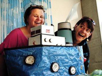 Wybretten-AHOI! Zwei Frauen auf hoher See - 1