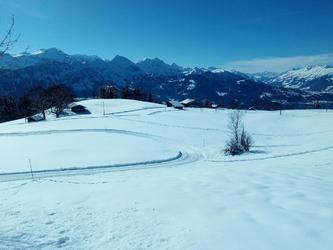 Cross country skiing - starting point 100 m from the Chalet