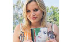 Julia Maria Sakar: «Mein Herzblut steckt in dieser CD.» Bild ras