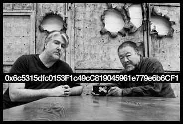 Kevin Abosch & Ai Weiwei - Berlin 2018