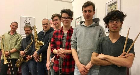 Jazz-Doppelkonzert Monday Move und Lucky Nuts