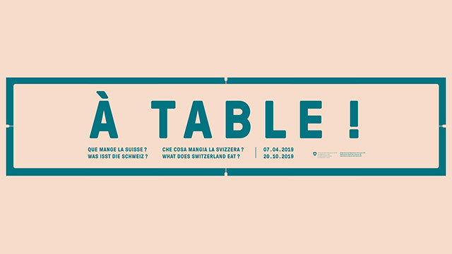 À Table! Was isst die Schweiz?