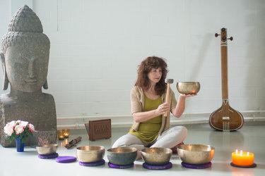Klangmeditation mit Naturton-<br>Instrumenten