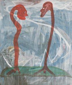 Martin Disler, o.T., 1978, Kunsthaus Zug