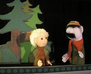Looslis Puppentheater «De Hansdampf im Schnäggeloch»