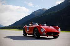 Passione Engadina: Maserati-Ausstellung