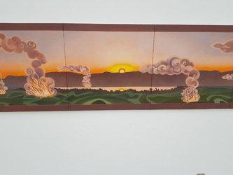 Malerei Caroline Bachmann 58 av J.C.