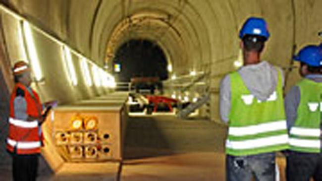 Tunnelführungen Nothaltestelle Ferden