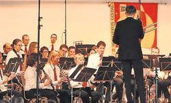 Der Musikverein Goldau begeisterte im Pfarreizentrum Eichmatt mit Blasmusik vom Feinsten. Bild: Elvira Ziltener