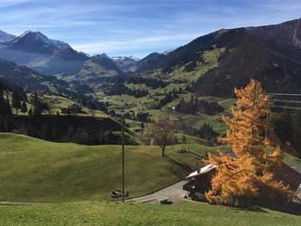 Sicht auf die Berge in der Umgebung.