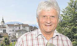 Abschied vom «Mister Hohle Gasse»: Der Küssnachter Hans Grossrieder ist in der Region fast so bekannt wie Wilhelm Tell. Bild Edith Meyer