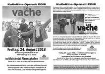"""Kino Openair """"La Vache"""""""