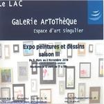 Expo peintures et dessins - saison III