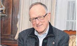 Dem Kunsthistoriker Dr. Albert Jörger gelang es, die Familiengeschichte der Guntlins leicht verständlich und dennoch wissenschaftlich fundiert darzustellen. Bild Andreas Knobel
