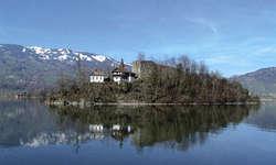 Schwanau: Auf der Schwyzer Staatsinsel findet eine Führung statt.