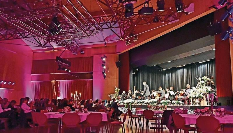 Das Gaia Chamber Orchestra an der Neujahrsgala in Rotkreuz. (Bild PD)