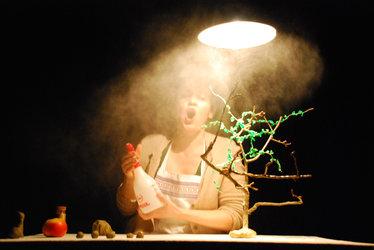 Figurentheater Kathrin Irion - Die Geschichte vom Wunderapfel