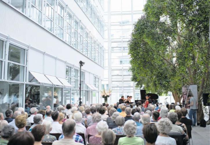 Das Business Center Grafenau in Zug ist sehr gut besucht. (Bild Maria Schmid)
