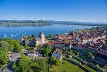 Aerial view Murten (Murten Tourismus)