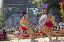 Gladiatorenkampf in der Arena