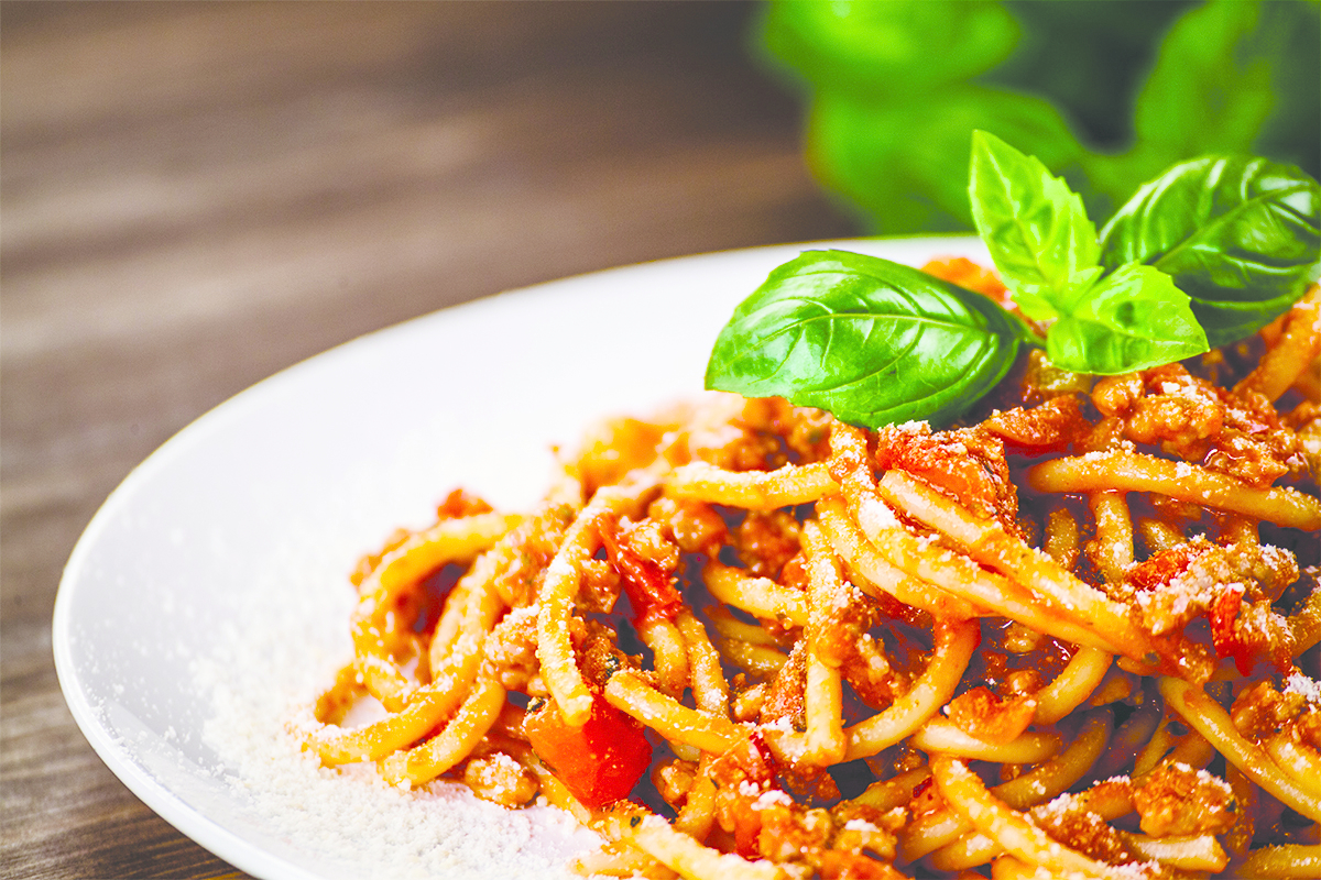 Spaghetti-Schiff