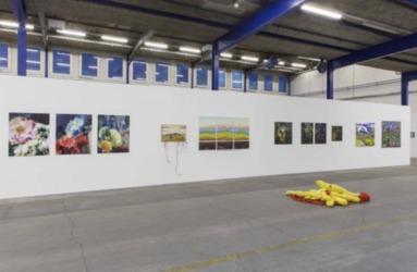 Kunstschaffen Glarus 2018, Off Kunsthaus Glarus im ehemaligen Therma-Areal, 2018, Ausstellungsansicht