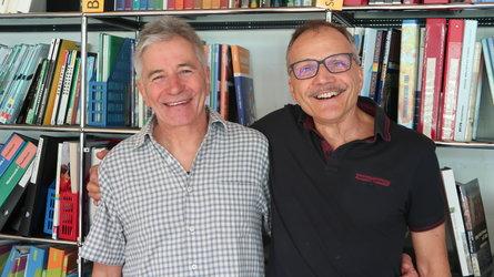 Daniel Laurent und Robert Bleisch treten in den wohlverdienten Ruhestand