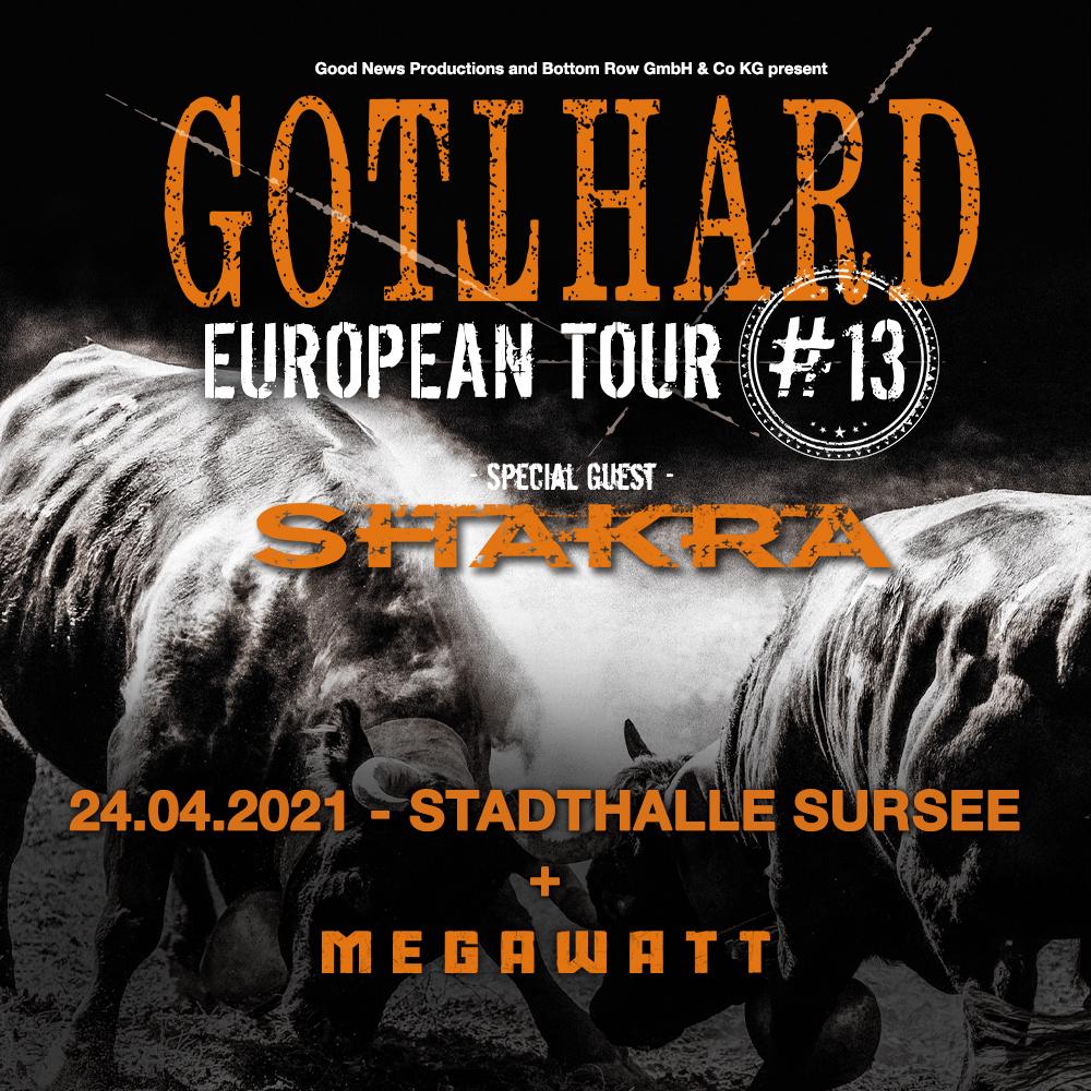 Gotthard + Shakra