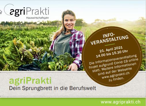 ONLINE: agriPrakti - Informationsveranstaltung