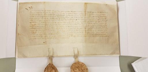 Urkunde des Klosters Säckingen 1395
