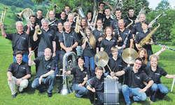 Die ungefähr 30 Musikanten der Musikgesellschaft Reichenburg boten ein tolles Konzert.