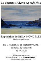 Exposition Rina Moncelet - Peinture et sculpture