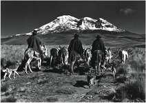 De la série Los Hieleros, 1981-1982, photographie argentique