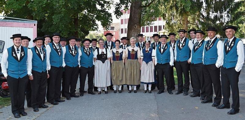 Die Baarbürgler freuen sich über die erfolgreiche Teilnahme am Jodlerfest in Horw. (Bild PD)