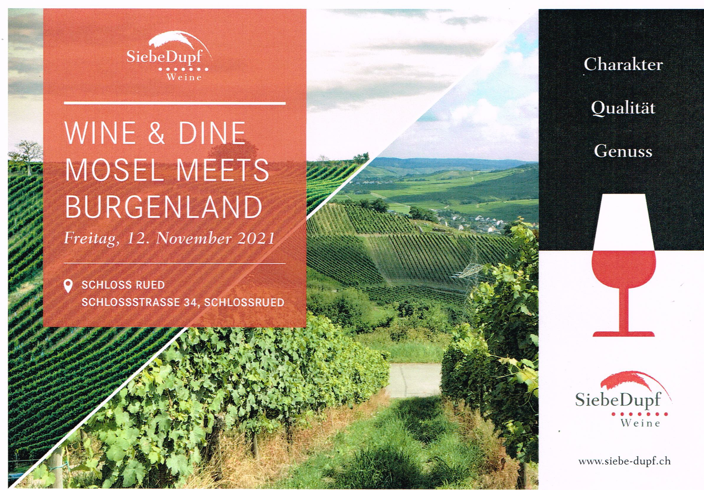 Wine&Dine - Mosel meets Burgenland