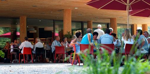 Restaurant Rübis & Stübis: Terrasse